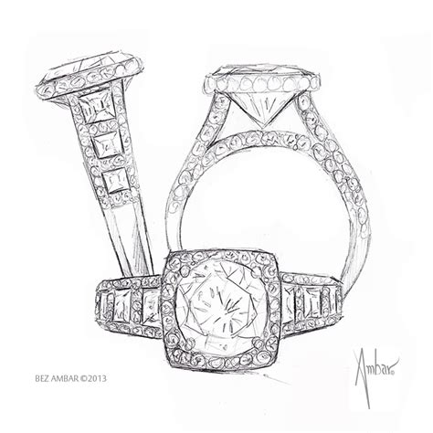how to draw wedding rings windows engagement ring drawing