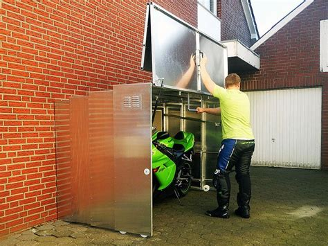 retractable motorcycle shed dual sport motorcycles