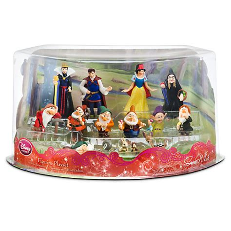 Figurine Snow White 7 Dwarfs Set snow white and the seven dwarfs figure deluxe play set 13 pc in display box ebay