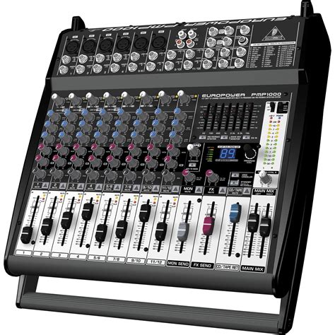 Mixer Behringer 12 Channel Bekas behringer pmp1000 powered mixer zzounds