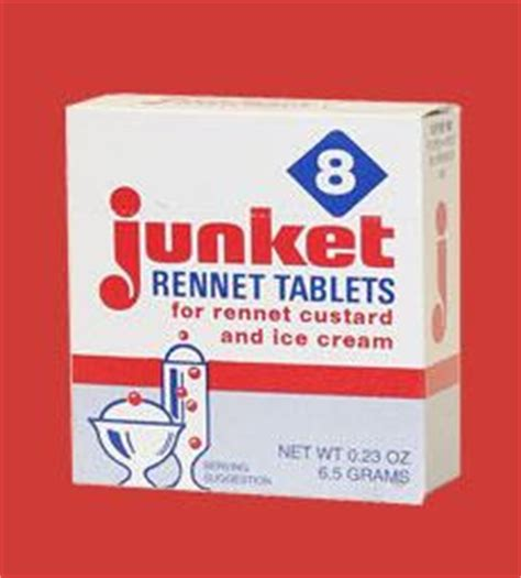 Tablet Rennet need junket rennet tablets or any rennet