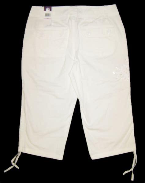 Gloria Vanderbilt Womens Tyra Casual Capri Pants, Whipped ... Gloria Vanderbilt Capris Pants