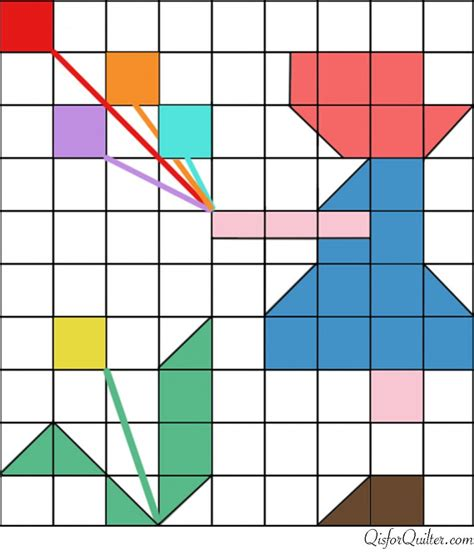 printable quilt block patterns vintage sunbonnet sue pieced quilt pattern q is for quilter