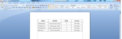 cara membuat database dengan microsoft excel 2007 panduan sederhana microsoft office 2007 cara membuat mail