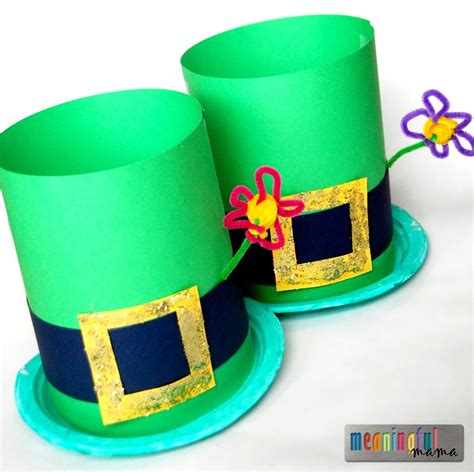 hat crafts 35 st patrick s day crafts to make you feel