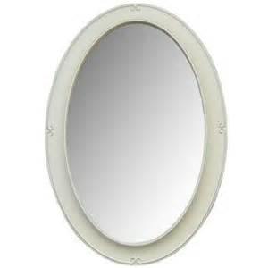 white framed oval bathroom mirror white wash oval framed mirror with bevel shop hobby lobby bathroom ideas pinterest