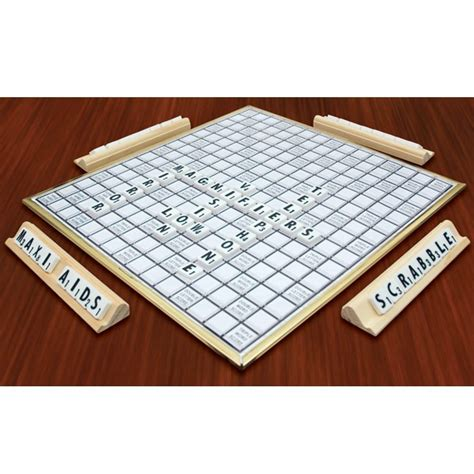 braille scrabble board bingo visually impaired scrabble