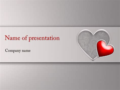 valentines card powerpoint template s day powerpoint template for impressive