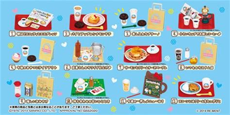 Hello Coffe Shop hello coffee shop cafe re ment miniature blind box