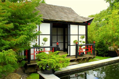 backyard tea house la vie en rose japanese garden
