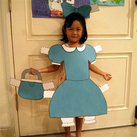 How To Make A Paper Doll Costume - friday five paper doll costume for a skip