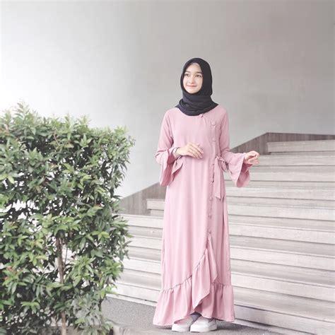 gaya hijab pastel ala bella almira