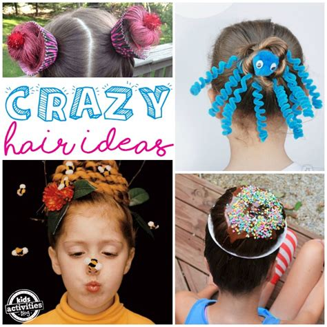 hairstyles for school games crazy hair day ideas for school kids activities