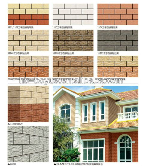 Home Exterior Design Tiles House Designs Decorative Exterior Ceramic Wall Tile