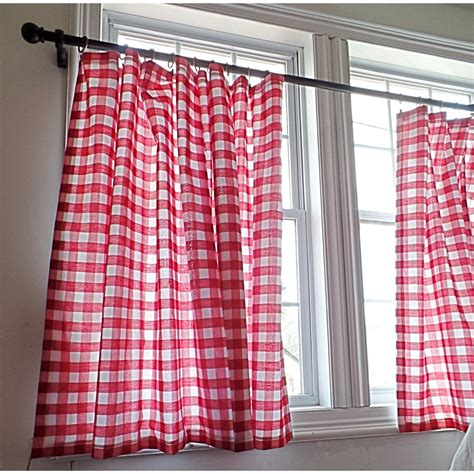 gingham curtain panels gingham curtain panel