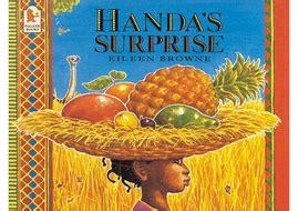 handa s surprise and handa s hen huge story teaching resources eyfs ks1 africa by hayleyhill
