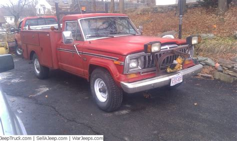 1987 Jeep J20 1987 Jeep J20 Information And Photos Momentcar