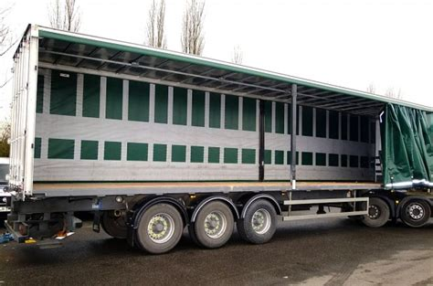 curtain side trailer hire maun motors self drive hgv trailer rental 3 axle