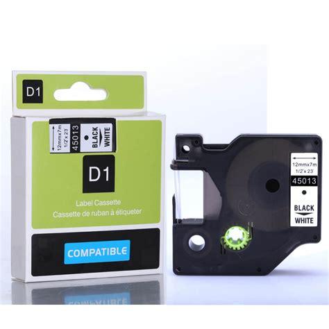 dymo label cassette compatible dymo d1 label d1 label cassette 45013