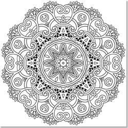 mandala coloring pages for anxiety mandalas para colorear 174 dibujos para imprimir