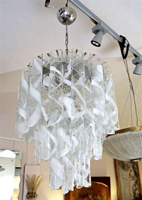 murano glass chandeliers murano glass by mazzega murano chandelier 1960s at 1stdibs
