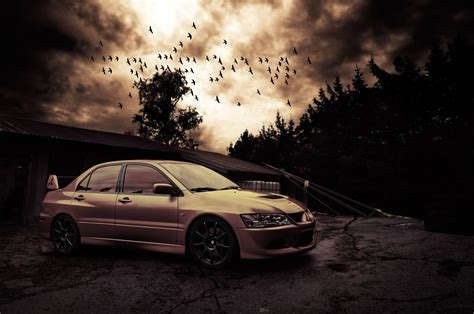 mitsubishi lancer wallpaper hd evo 8 wallpapers wallpaper cave