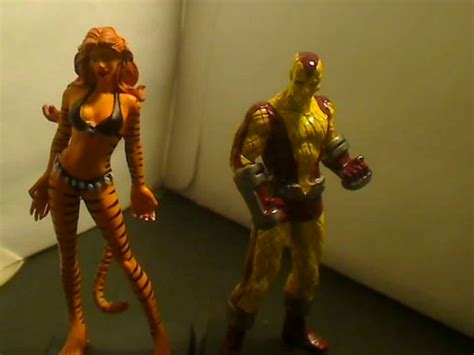 my review for the Shocker and Tigra Eaglemoss marvel ...