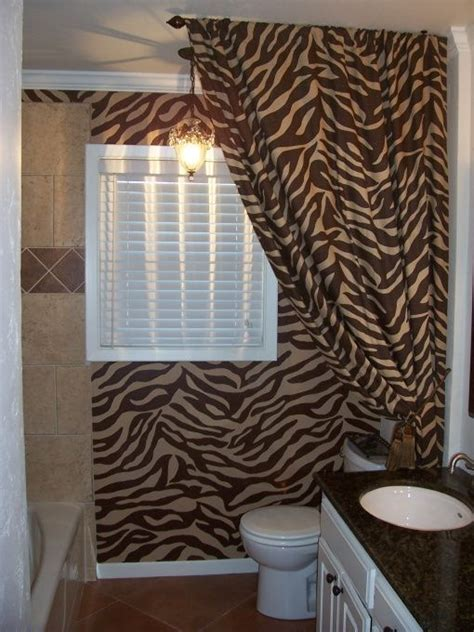 zebra bathroom decorating ideas 17 best images about zebra ideas for the bathroom on