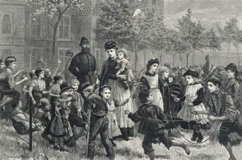 victorian time bbc primary history victorian britain children at play