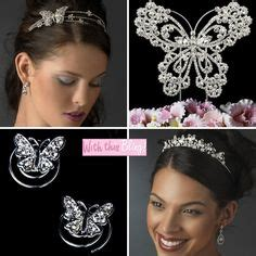 Butterfly Hair Accessories For Weddings by 1000 Images About Bridal Hair Accessories On