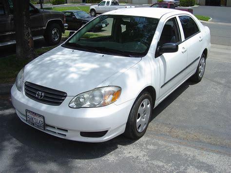 2004 white toyota corolla 2004 toyota corolla rancho cordova toyota used car and
