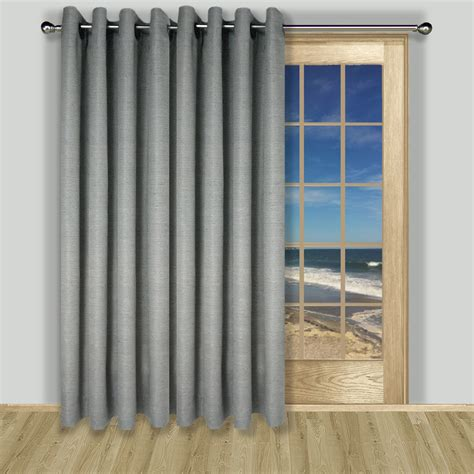 Curtains For Big Sliding Doors Large Sliding Door Curtains Derektime Design Choose The Sliding Door Curtains