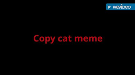 copy cat meme youtube
