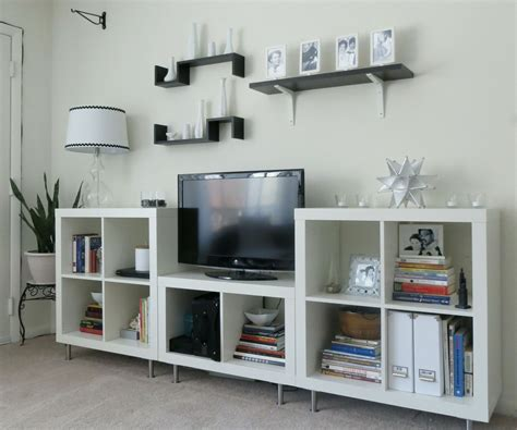 Ikea Black Billy Bookcase Before Amp After Entertainment Center Bookshelf Makeover