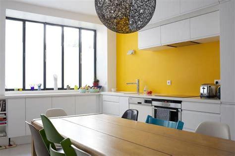 cuisine mur jaune avant apr 232 s sur une cuisine et bien plus encore
