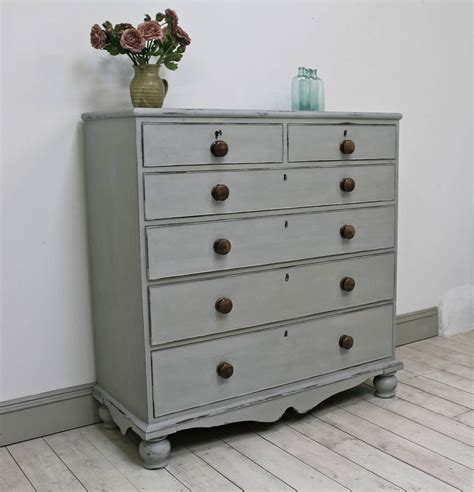 Distressed Chest Of Drawers by Grey Distressed Chest Of Drawers By Distressed
