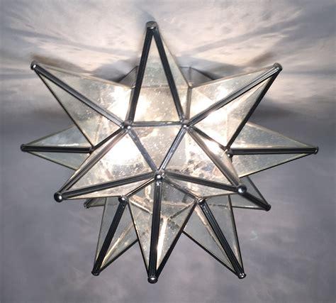 moravian star ceiling light glass moravian star wall sconce custom lighting
