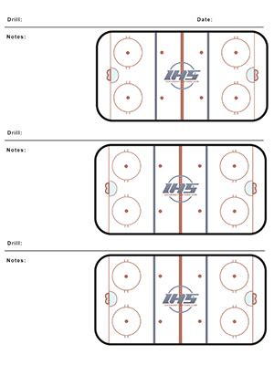 blank hockey practice plan template free hockey resources hockey systems inc