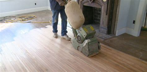 Sanding Heart Pine Floors at the Kuppersmith Project House