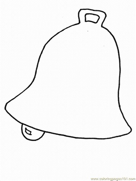 coloring pages of a christmas bell bell coloring page free christmas coloring pages