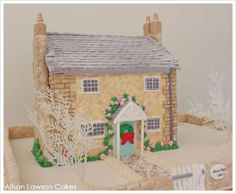 Cottage Cakes by Winter Cottage Cake