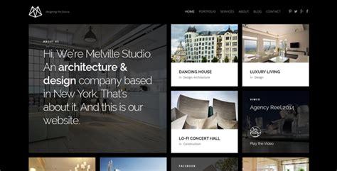 themeforest interior design melville architecture wordpress theme by nrgthemes