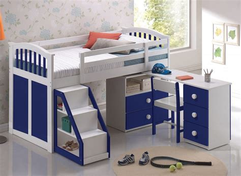 Bunk Bed With Desk And Storage Bunk Beds With Storage And Desk Size Of Bedroom Cool Beds Boys Bunk