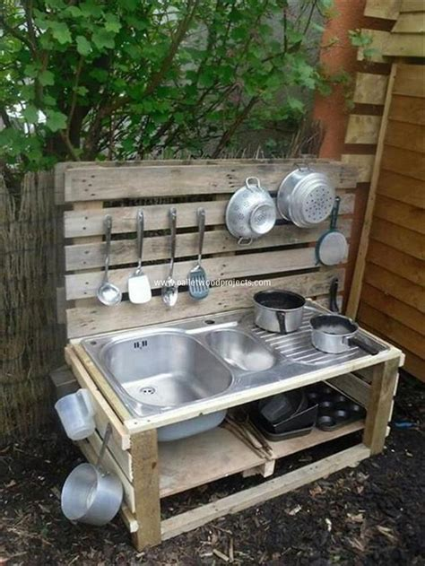 backyard wood projects recycled pallet wood outdoor kitchen pallet wood projects