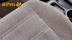 How To Shampoo Car Interior At Home by Diy Automotive Upholstery Shampooing Youtube