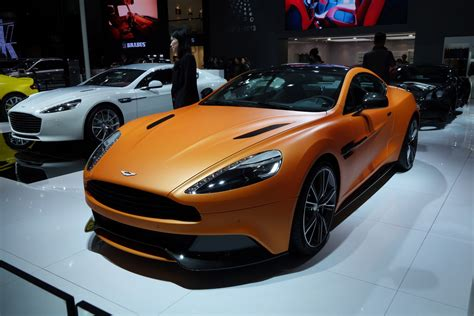 orange aston martin aston martin vanquish matte orange