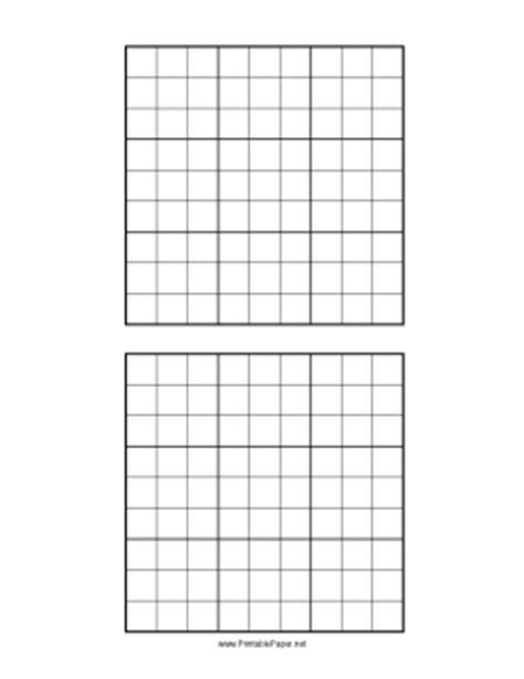 printable sudoku grid printable sudoku grid
