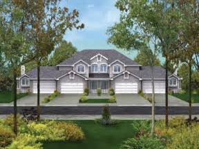 fourplex house plans forest hill fourplex home plan 007d 0023 house plans and more