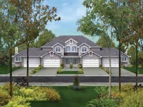 Fourplex Forest Hill Fourplex Home Plan 007d 0023 House Plans And