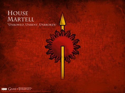 martell house house martell game of thrones wallpaper 31246381 fanpop